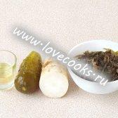 Салат з дайкона з морською капустою