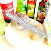Буряковий салат з бринзою і горошком