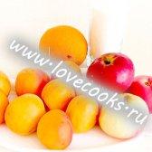 Варення з абрикосів і яблук з апельсином