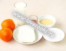 Сирно-апельсиновий десерт